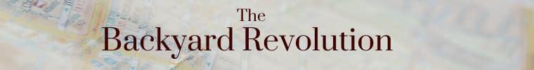 Banner Backyard Revolution