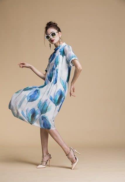Inspired by the style of spring- classy and sustainable