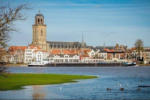 Deventer in Overijssel, The Netherlands