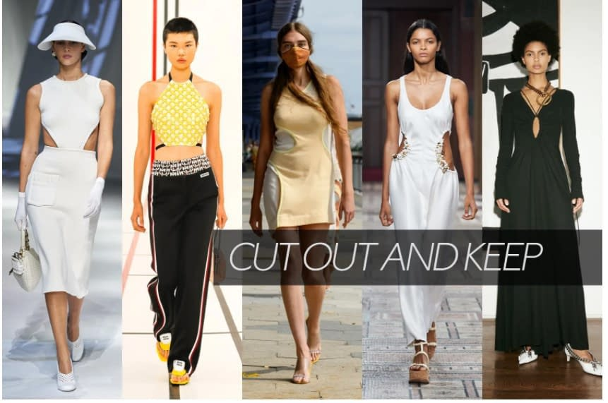 Vogue, cut out and keep, dresses