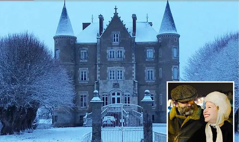 english couple buys a castle in France