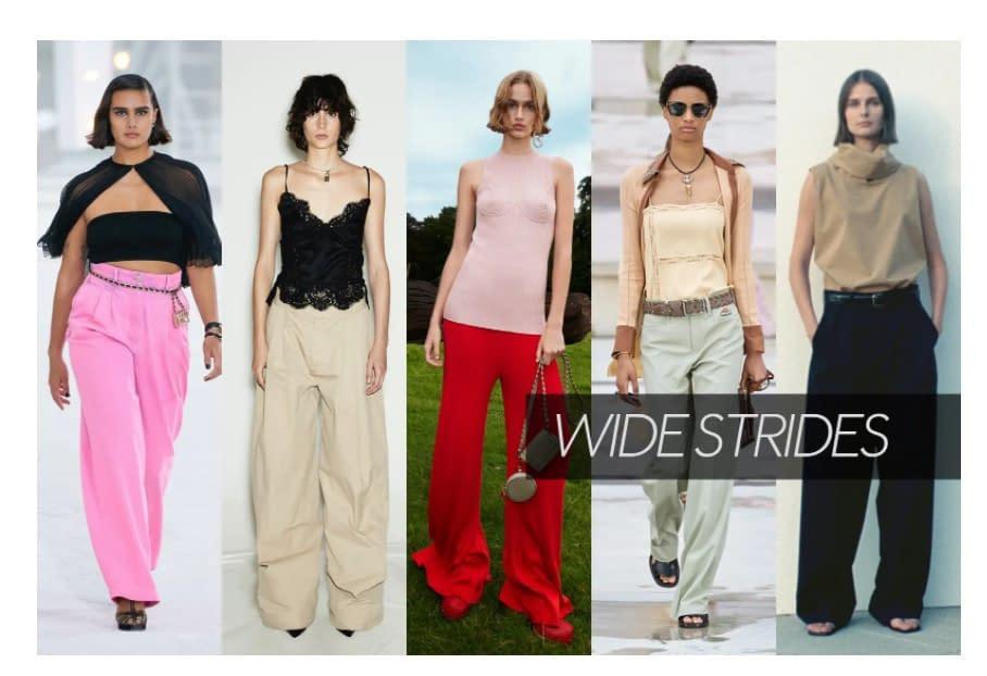 Vogue, wide strides