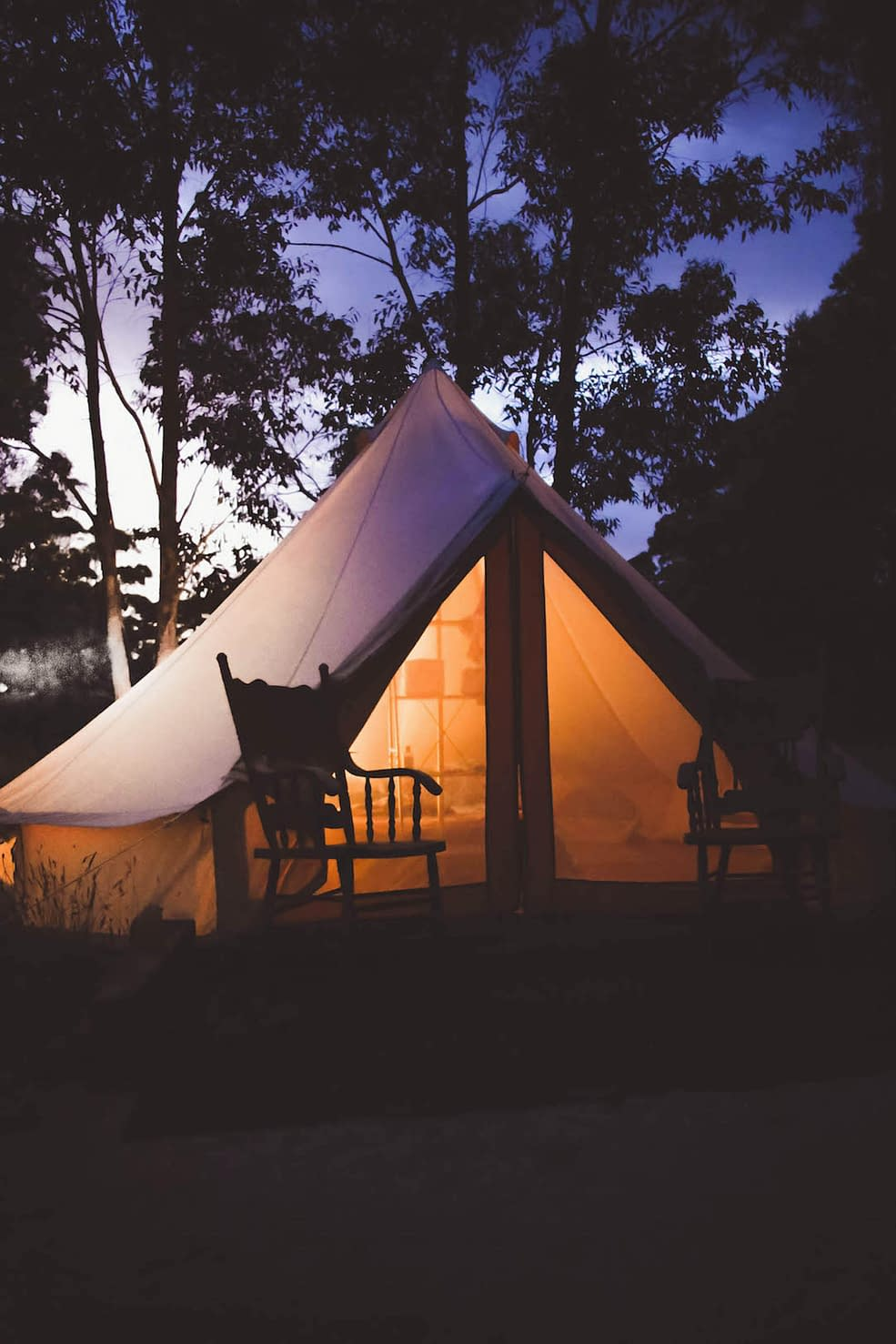How to travel sustainable-Glamping is the hit